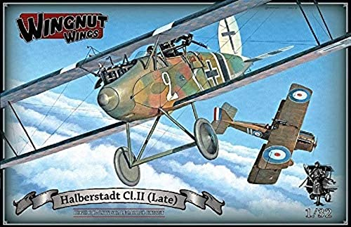 Wingnut Wings WNN32062 Modellbau Halberstadt CL. II (Late), Mehrfarbig
