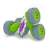Coche Teledirigido,Coche Acrobacia, Coche acrobatico teledirigido, Rotación Volteo de 360 Grados,4WD Coche de Juguetes Niños, Alta Velocidad Coche con...