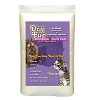 "DryFur Super Absorbent Pet Carrier Travel Pads (XL - 22"" x 33"") 2 Pack 141[並行輸入]"