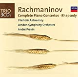 Rachmaninov: Complete Piano Concertos/Rhapsody on a Theme of Paganini