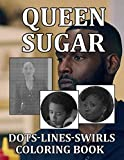 Queen Sugar Dots Lines Swirls Coloring Book: Color Puzzle Activity Books For Adult