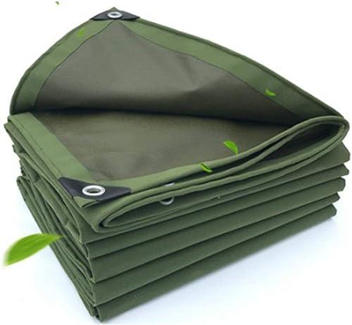 Bache de tente durable extérieurTarpaulinproofproofsunscreententclothtruckshed vêtements-vêtementsantant-corrosionanti-freezecanvas (Couleur   Vert, Taille   3X3M)