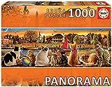 Educa-En el Embarcadero Panorama Puzzle, 1000 Piezas, multicolor (18001)