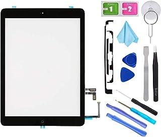 116c9e14e70 Tefir Kit de reparación de digitalizador Negro iPad 5 A1474 A1475 A1476 /  iPad5 iPad Air