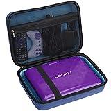 Aproca Hard Storage Travel Blue Case, for COOAU 11.5' / 12.5' Portable DVD Player