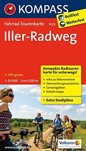 Fahrrad-Tourenkarte Iller-Radweg: Fahrrad-Tourenkarte. GPS-genau. 1:50000. (KOMPASS-Fahrrad-Tourenkarten, Band 7029)