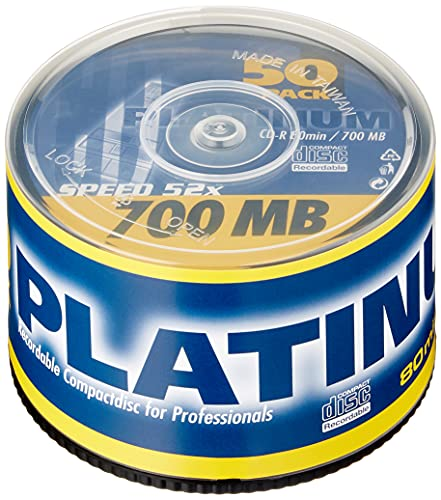 PLATINUM CD-R 700 MB CD-Rohlinge Bild