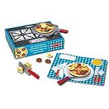 Melissa & Doug Flip and Serve Pancake Set Pretend Play Play Food 3+ Gift for Boy or Girl
