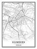 QWJYREMN Leinwand Bilder Dekorative Gemälde Nijmegen Stadt