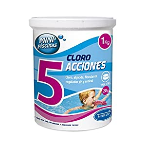 Lote-Cloro EN Pastillas 4 ACCIONES 20 Gramos DE 1 KG + ...
