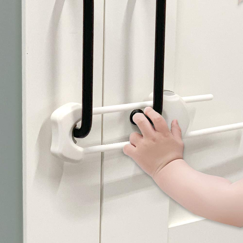 EUDEMON 3 Pack U Super beauty product restock Long Beach Mall quality top Shaped Cabinet Kids Cupboard Locks Proofing