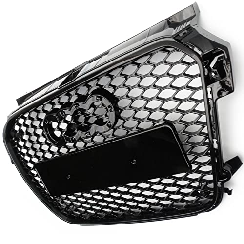 Underground Parts RS Style Honeycomb Front Bumper Grille Gloss Black