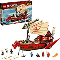 LEGO Ninjago BountydelDestino, Playset Nave da Battaglia Giocattolo per Bambini, 71705