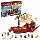 Ninjago Legacy Barco de Asalto Ninja Set, Juego de Batalla Naval, multicolor (Lego ES 71705)