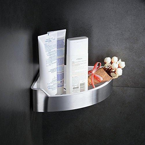 Hiendure Universalkorb aus rostfreiem Edelstahl für Bad und Küche-Duschablage/Duschkorb - mit 2 Jahren Geld-zurück-Garantie
