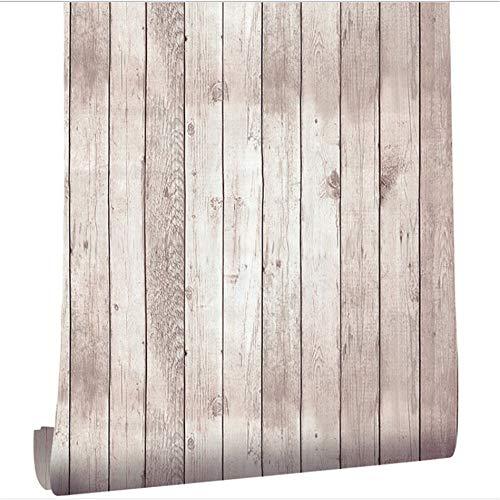 W-L Papel Tapiz y pelado Papel Tapiz en apuros Vinilo Autoadhesivo Papel Pintado extraíble Papel Pintado Redacción Pegatinas de renovación (Color : White, Size : 45x300cm)