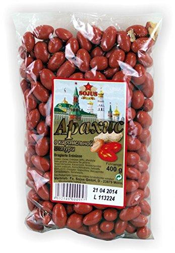 Dragierte Erdnüsse 400g Russische Küche Dovgan Nüsse