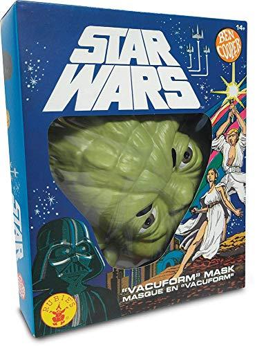 Rubie's - Maschera ufficiale Yoda Ben Cooper Edition-ST-34965 Star Wars travestimento per adulti unisex ST-34968, multicolore