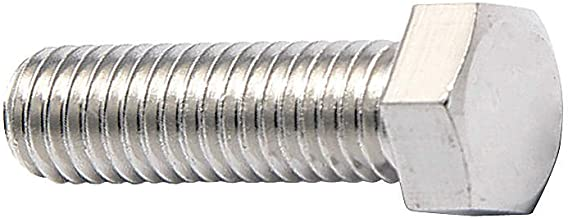FOREVERBOLT FBMHEXB101516P10 Hex Head Cap Screw M10-1.50 X 16mm Long, 18-8 Stainless Steel, NL-19 Finish, PK, 10