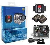 EKEN H8R 4K Actionkamera, wasserdichte Full HD WiFi Sportkamera mit 4K30 / 1080P60 / 720P120fps...
