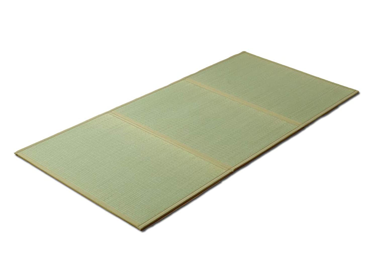 平衡食欲費やす日本製 畳 い草 マットレス ダブル「 夢見畳 3連タイプ 」(#8324229) ダブルサイズ:140×210cm