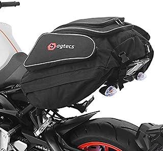 Bagtecs   Motorrad Hecktasche für KTM 1290 Super Adventure Gepäck Tasche Motoroller Motorradgepäck für sozius hinten schwarz