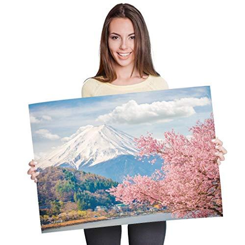 Destination Vinyl Posters A1 - Beautiful Japan Mount Fuji Art Print 90 X 60...