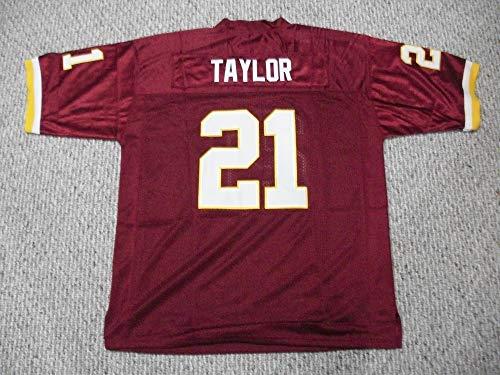 Unsigned Sean Taylor #21 Washington Custom Stitched Burgandy Football Jersey Various Sizes New No Brands/Logos (2XL)