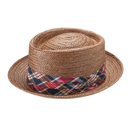 Stetson & Dobbs Men's Madrigal Pork Pie Hat, Brown - L