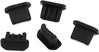 Aexit 5Pcs (Electrical equipment) Micro-USB Black Silicone Stopper/Plug for Protect Data Port (86ry150qf362) Of PC