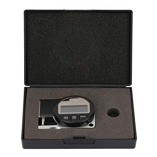 Digitales Dickenmessgerät, 0-10 * 0,01 mm Digitalanzeige Elektronisches Dickenmessgerät Dickenmessgerät Messwerkzeug für verschiedene Materialien, schnell/effizient/leicht/langlebig
