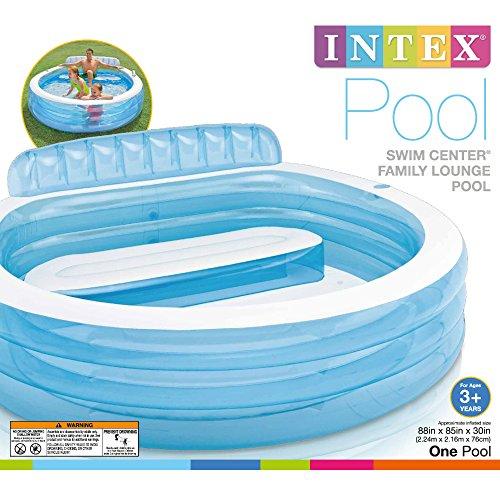 Intex 57190EP B01E0W4L58 Family Lounge Pool, 6x20x20, Blue