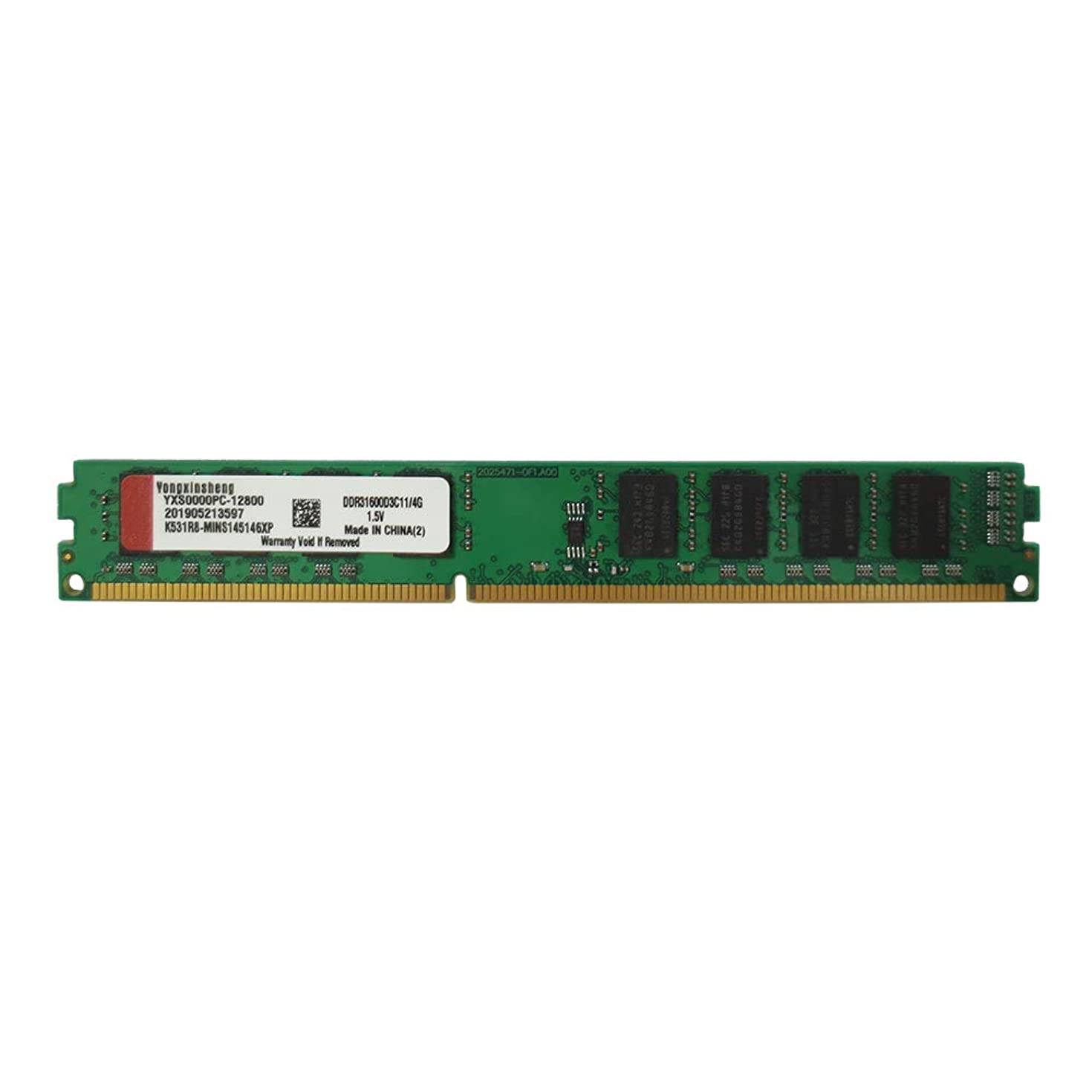 Yongxinsheng DDR3 8GB 1600Mhz Desktop General Memory Ram (8G, 1600Mhz)