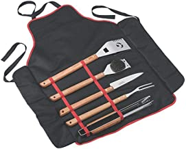 tramontina 6-Piece Barbecue Set Brown/Silver