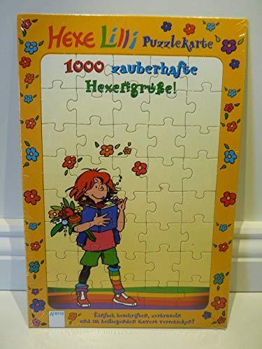 Hexe Lilli Puzzle-Karten