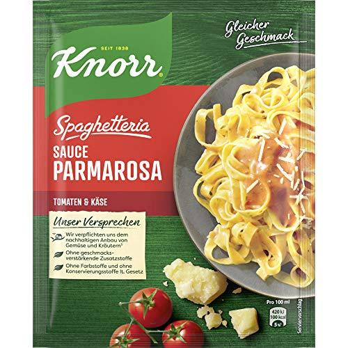 Knorr Spaghetteria Sauce Parmarosa Tomaten und Käse (1 x 250 ml)