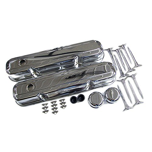 Assault Racing Products A3029 for Small Block Chrysler/Plymouth/Dodge Chrome Dress Up Kit SBM 273 318 340 360 LA