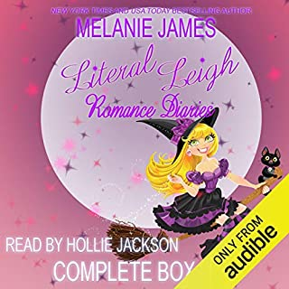 Literal Leigh Romance Diaries: The Complete Collection Boxed Set audiobook cover art