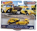 Mattel Hot Wheels Team Transport Volkswagen Transporter T1 Pickup #22, Yellow