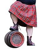 Spaß kostet Männer und Herren Schottenrock Kilt rot schwarz Größe M - 4XL