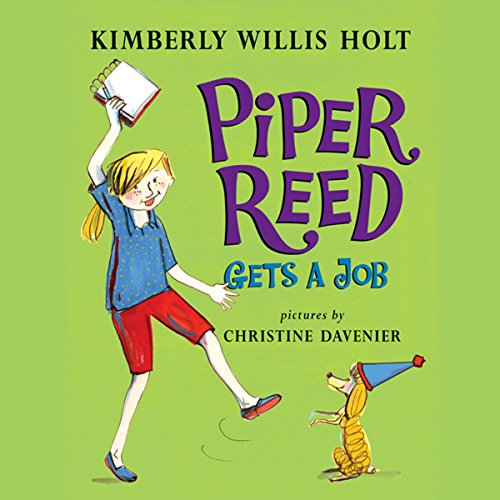Piper Reed Gets a Job audiobook cover art