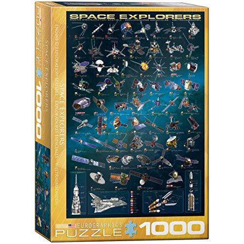 EuroGraphics Space Explorers 1000 Piece Puzzle