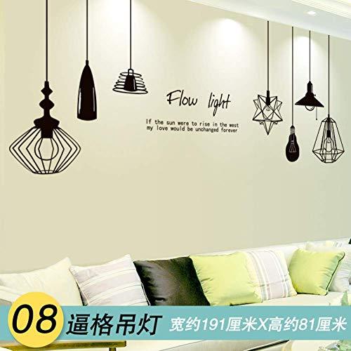 GWFVA 3D Sterren Muursticker Decal fotolijst Bed Slaapkamer Muurdecoratie fotolijst Behang