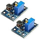 Partstower DC-DC SX1308 2 A Step-up Convertidor Booster Módulo de alimentación para Arduino