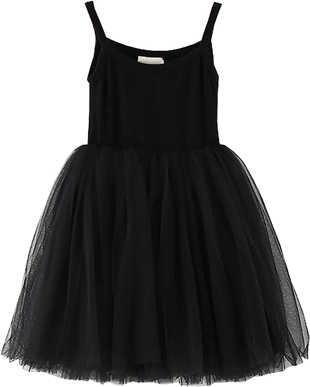 JNKLWPJS Max 59% OFF Atlanta Mall Baby Girls Tutu Dress Rainbow Tulle In Toddler Sundress