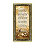 Crossroads Home Décor 50th Wedding for Parents, 50th Anniversary Decorations for Party, Golden Anniversary 50 Year Gifts, 50th for Couples, Gift to add to Your 50th Anniversary Card 7318G