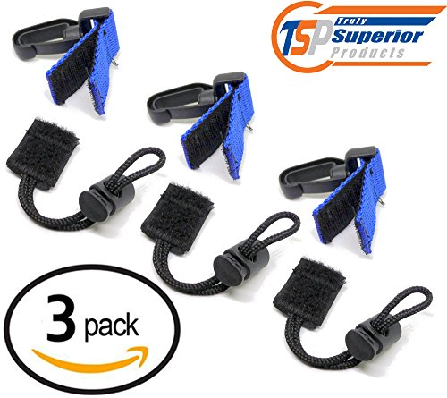 Universal Scuba Diving BCD Quick Release | Washable and Easy to use with Gloves 3-Pack