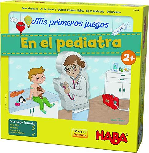 Haba mesa, Mis Primeros Juegos. En el Pediatra, multicolor (Habermass H304651) , color/modelo surtido