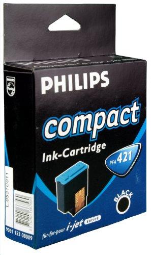 Philips 906115308009 - Cartucho Inyeccion Tinta Negro Pfa 421 Novofax Negocio/I-Jet Serie/I-Jet Luz/I-Jet Primo Pfa/421/00 Ipf-/131/141/144/145/174/175/176/181