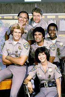 Tina Gayle Erik Estrada Robert Pine TV Cast Tom Reilly Chips 24x36 Poster